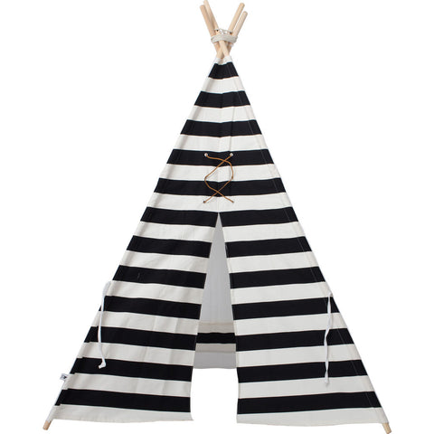 Wild Design Lab Bowie Teepee | Black/White Stripes Lacing TPBWEW
