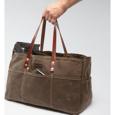 Bradley Mountain Utility Bag | Field Tan