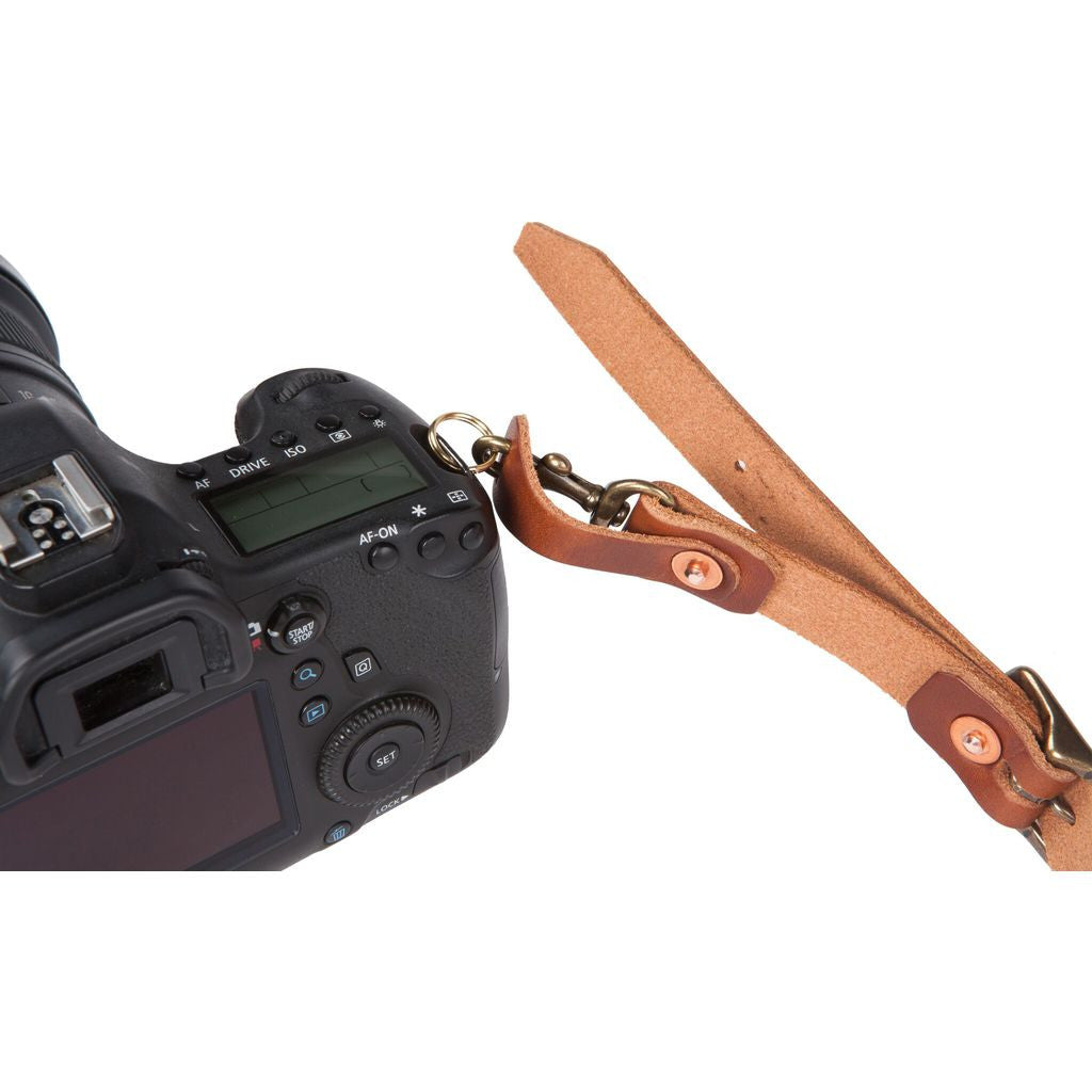 Bradley Mountain Leather Camera Strap | Brown BMCAMBR01