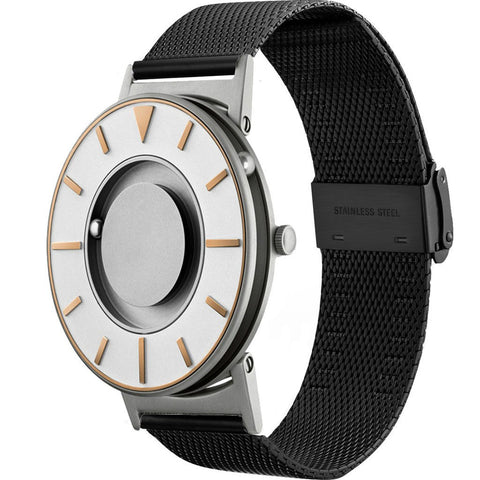 Eone Bradley Compass Gold Ltd. Watch | Black Mesh