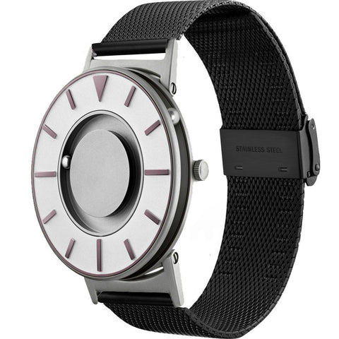 Eone Bradley Compass Iris Ltd. Watch | Black Mesh