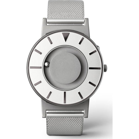Eone Bradley Compass Iris Watch | Steel Mesh