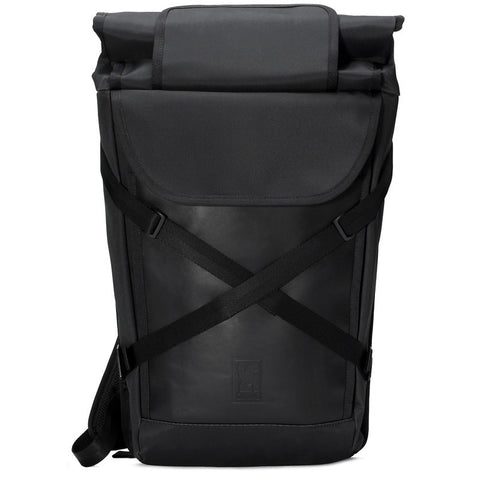 Chrome Bravo Laptop Backpack | BLCKCHRM