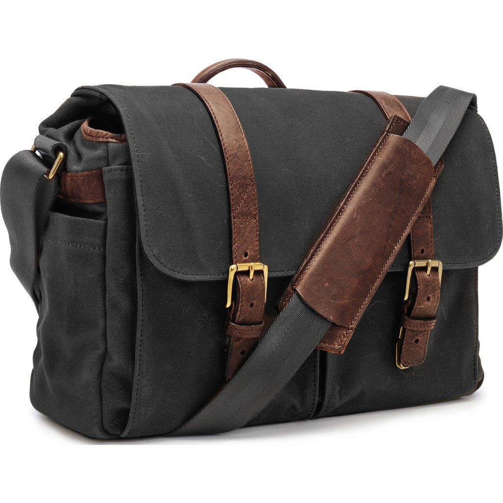 ONA Brixton Camera Messenger Bag | Black ONA5-013BL