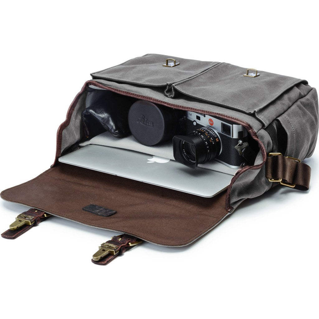 ONA Brixton Camera Messenger Bag | Smoke ONA5-013GR
