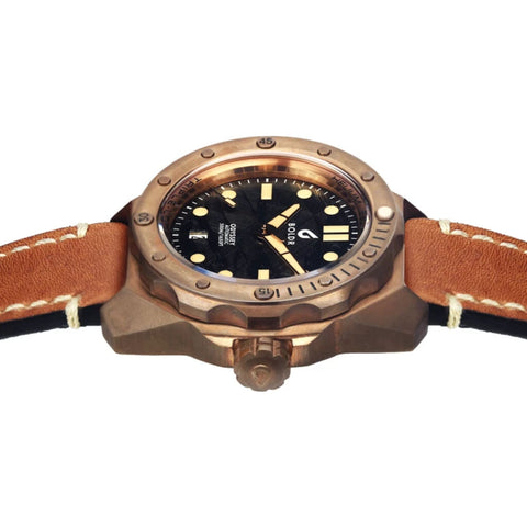 BOLDR Odyssey Diver Automatic Watch | Bronze Meteoblack