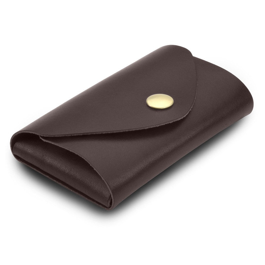 Ezra Arthur Snap Pouch Wallet | Brown EDC221