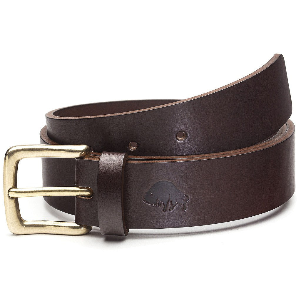 Ezra Arthur No. 1 Belt | Brown/Brass Buckle Sizes 32-42 CBT121B