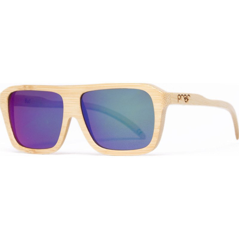 Proof Bud Wood Bamboo Kush Sunglasses | Mirrored Lens