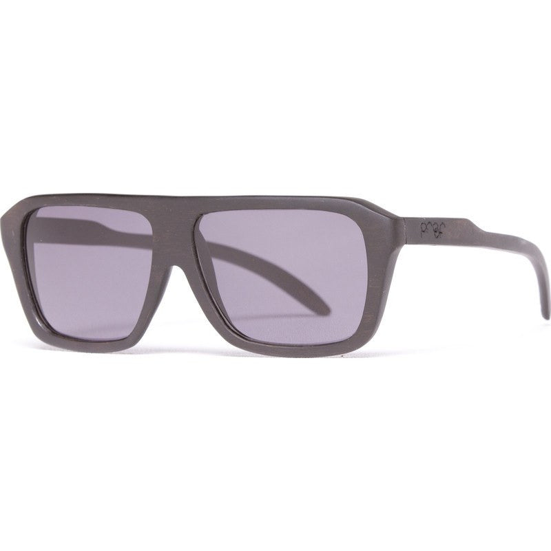 Proof Bud Wood Ebony Sunglasses | Gray Lens
