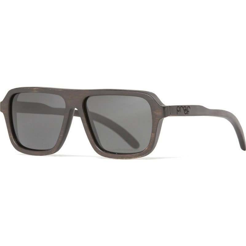 Proof Bud Wood Ebony Sunglasses | Polarized Lens