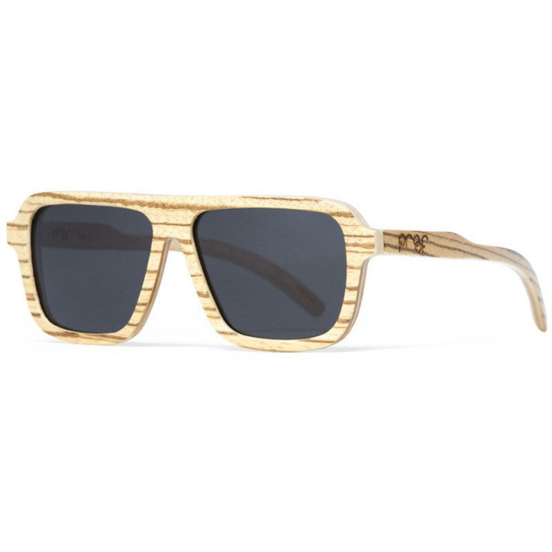 Proof Bud Wood Sunglasses | Zebra Polarized Lens