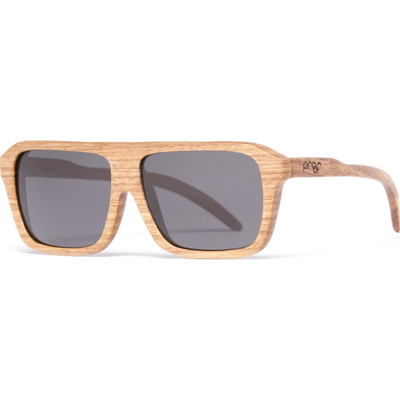 Proof Bud LaceWood Sunglasses | Grey Lens