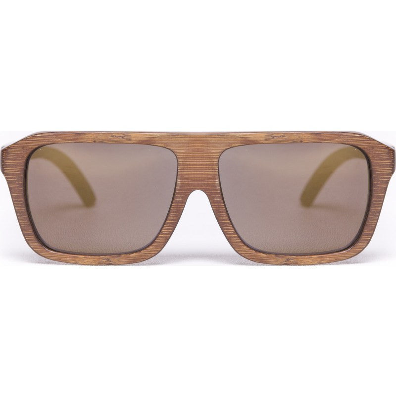 Proof Bud Staind Bamboo Sunglasses | Gold Lens