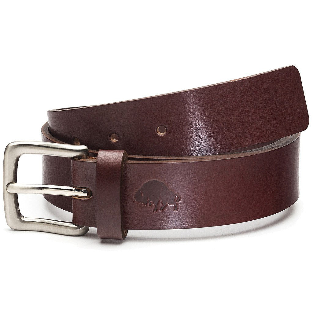 Ezra Arthur No. 1 Belt | Burgundy/Nickle Buckle Sizes 32-42 CBT120N