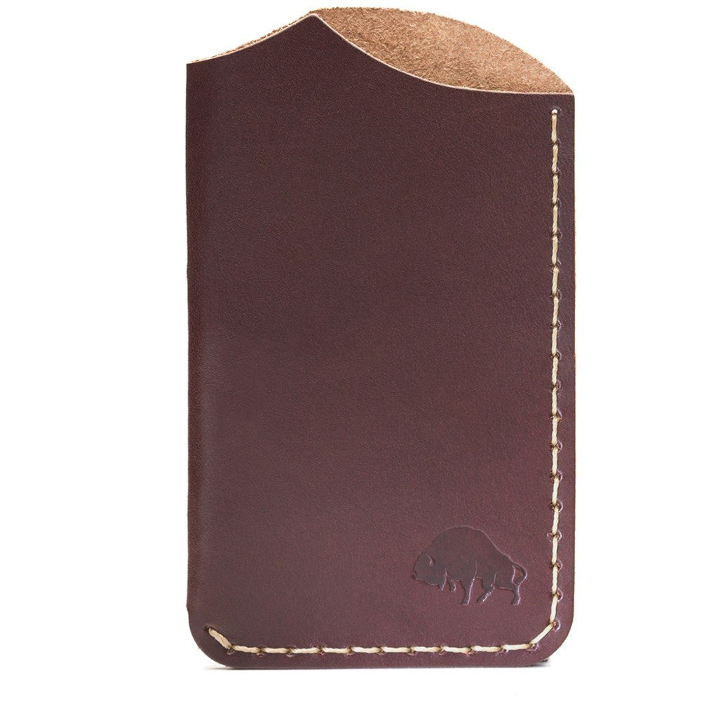 Ezra Arthur No. 1 Wallet | Burgundy CW120
