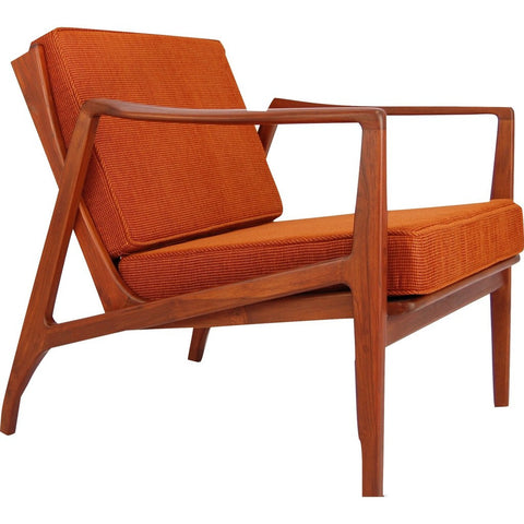 Bowery & Grand BG1122 Burnt Orange Chair | Zoe