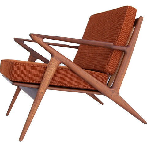 Bowery & Grand BG003-02 Burnt Orange Chair | Polaris Z