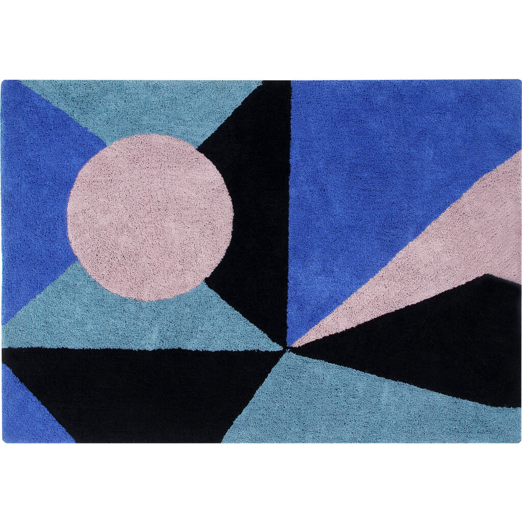 Lorena Canals Geometric Frame Washable Rug