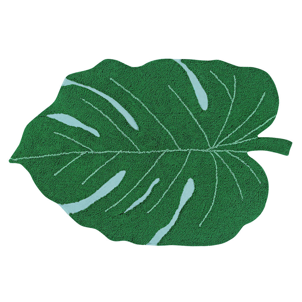 Lorena Canals Monstera Leaf Washable Rug