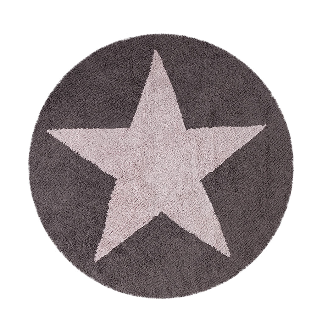 Lorena Canals Reversible Star Washable Rug
