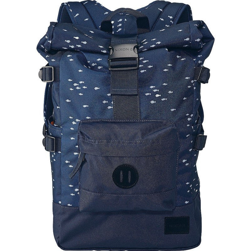 Nixon Swamis Rolltop Backpack | Navy