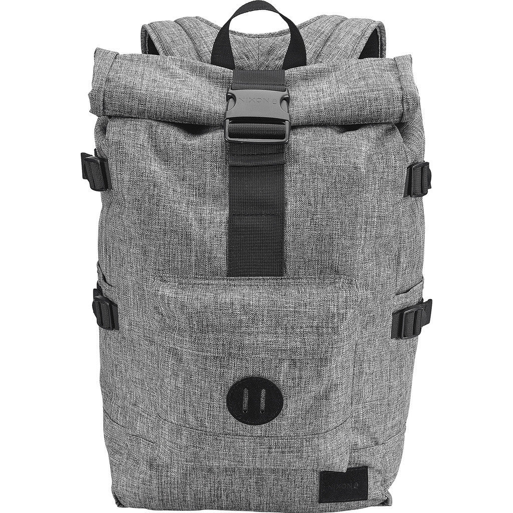 Nixon Swamis Rolltop Backpack | Black Wash C2187-736-00