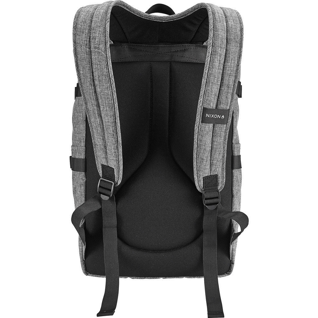 Nixon Swamis Rolltop Backpack | Black Wash