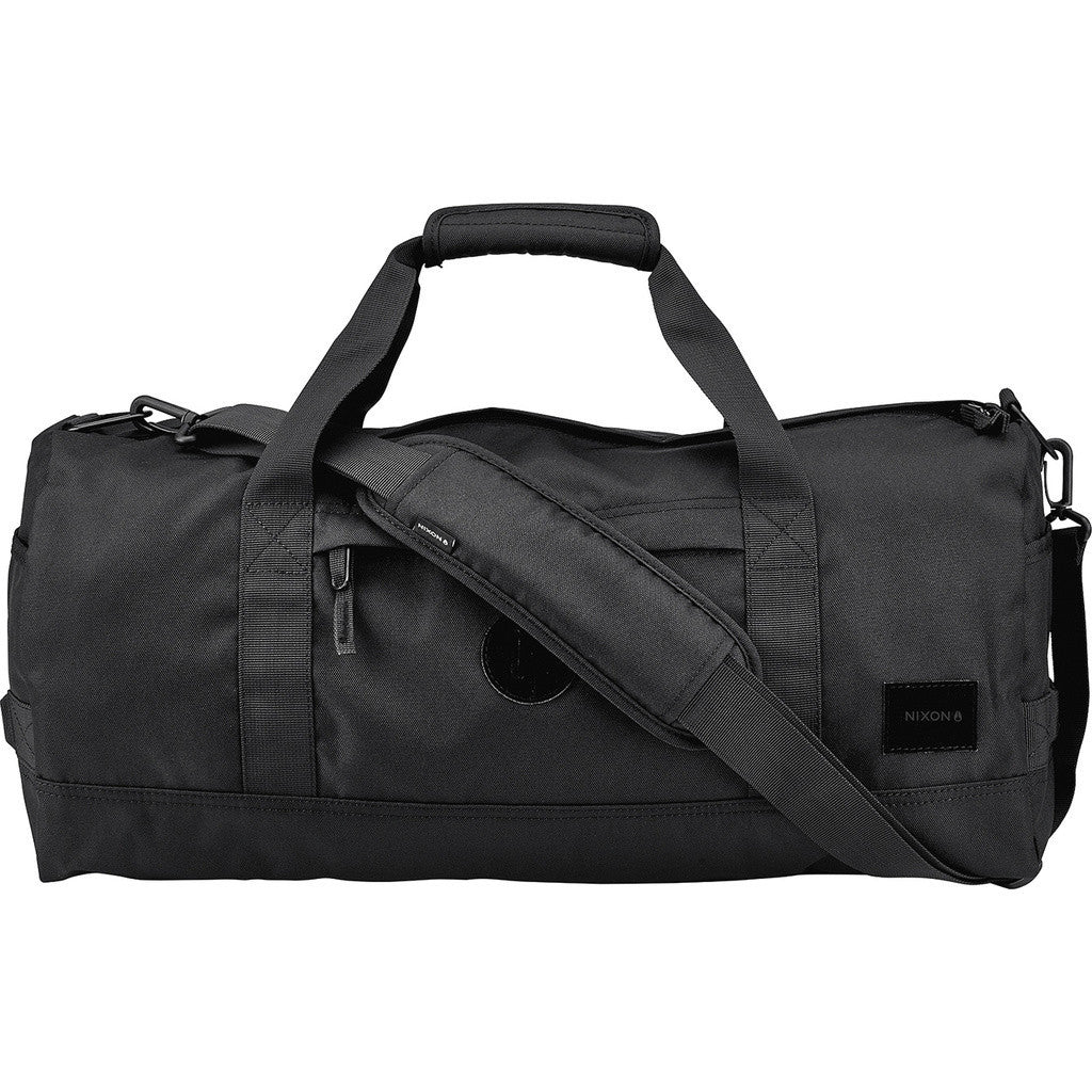 Nixon Pipes Duffel Bag | All Black C2188-001-00