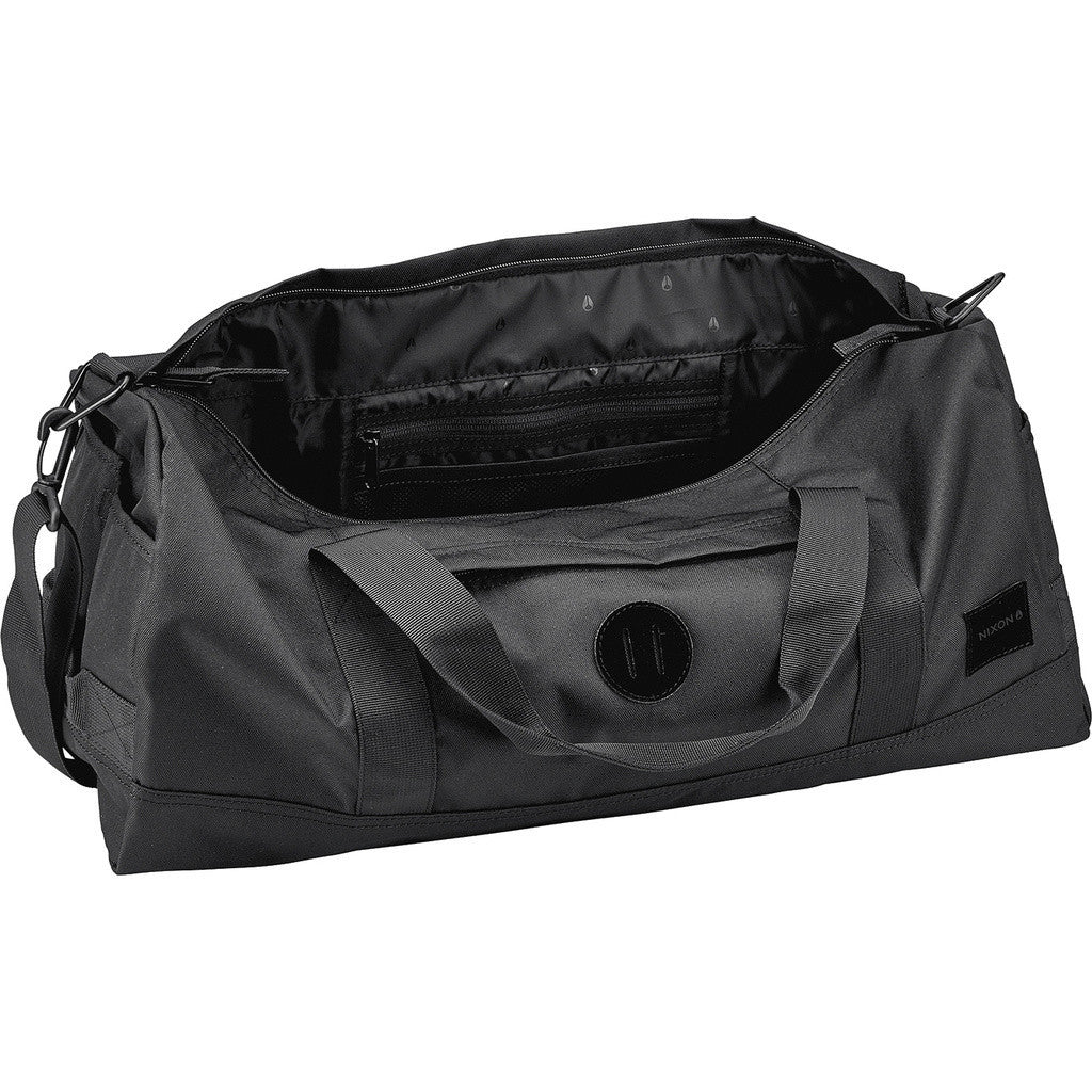 Nixon Pipes Duffel Bag | All Black