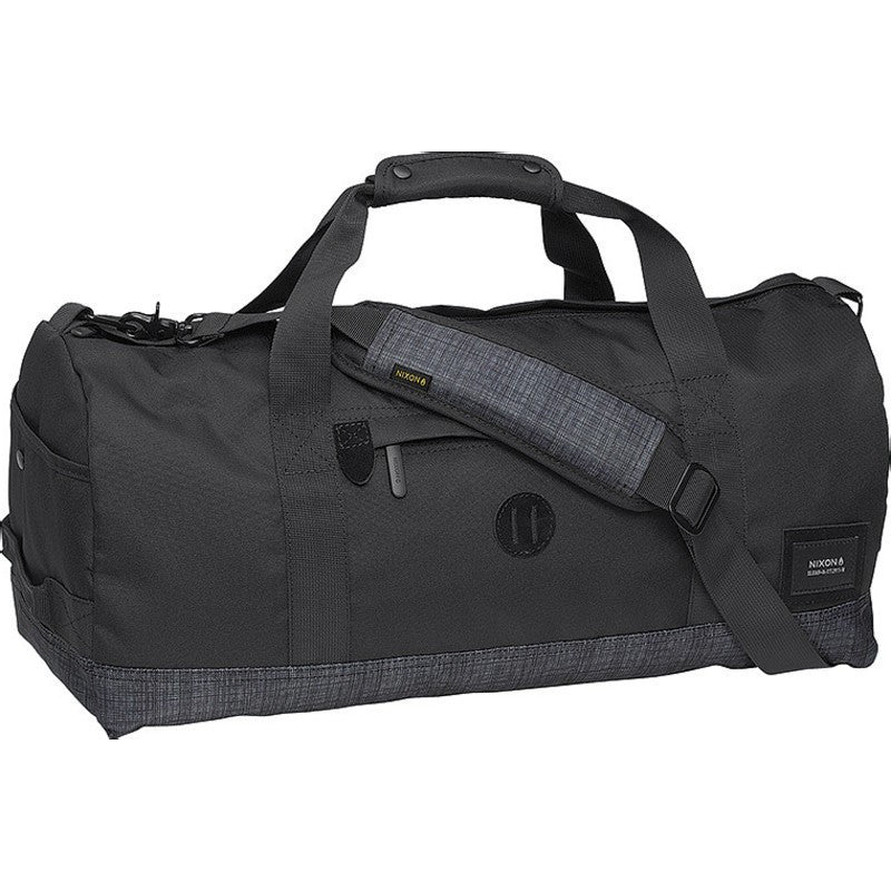 Nixon Pipes Duffel Bag | Black / Black Wash C2188-1627