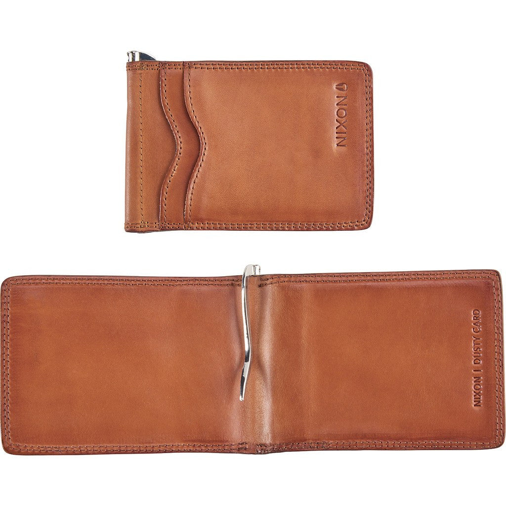 Nixon Dusty Card Wallet | Saddle C2302-747-00
