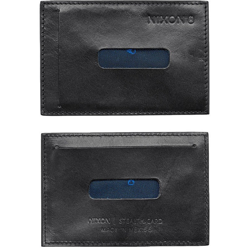 Nixon Stealth Slim Card Wallet | Black