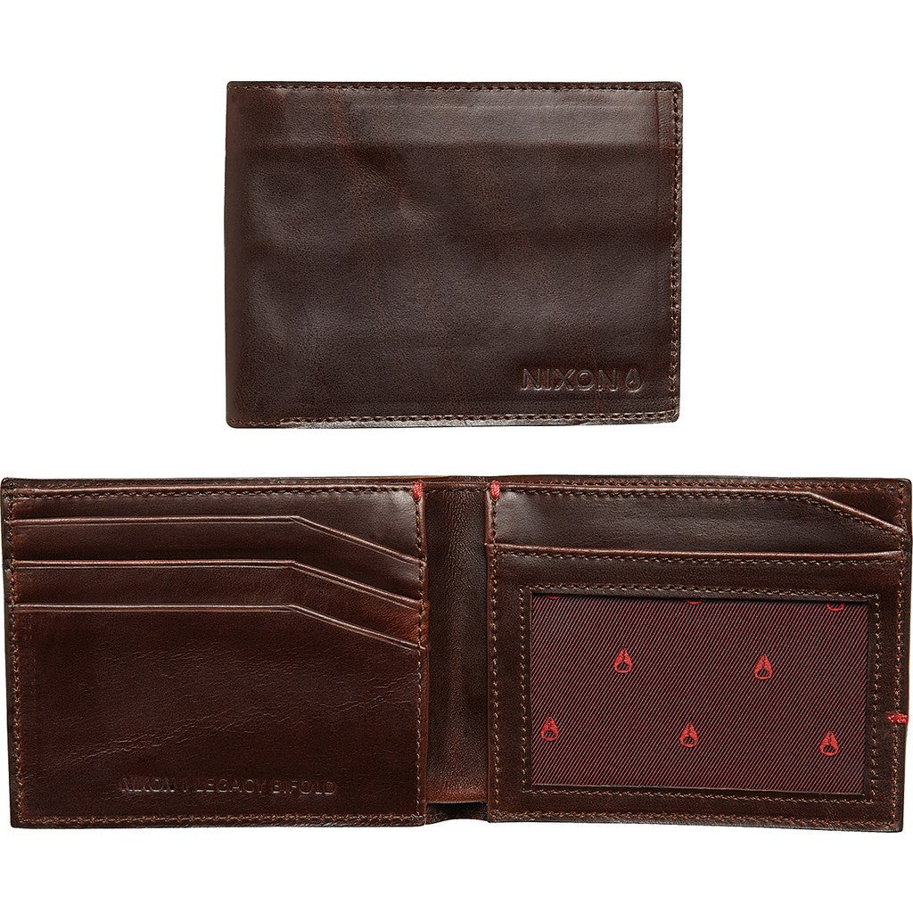 Nixon Legacy Bi-Fold Wallet | Brown C2387-400-00
