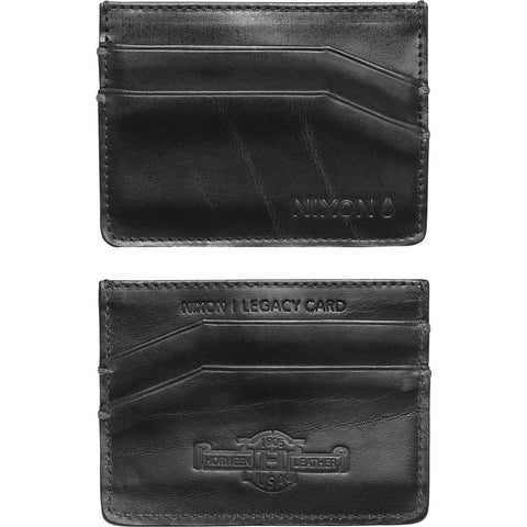 Nixon Legacy Card Wallet | Black C2388-000-00