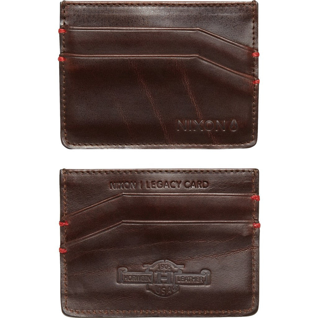Nixon Legacy Card Wallet | Brown C2388-400-00