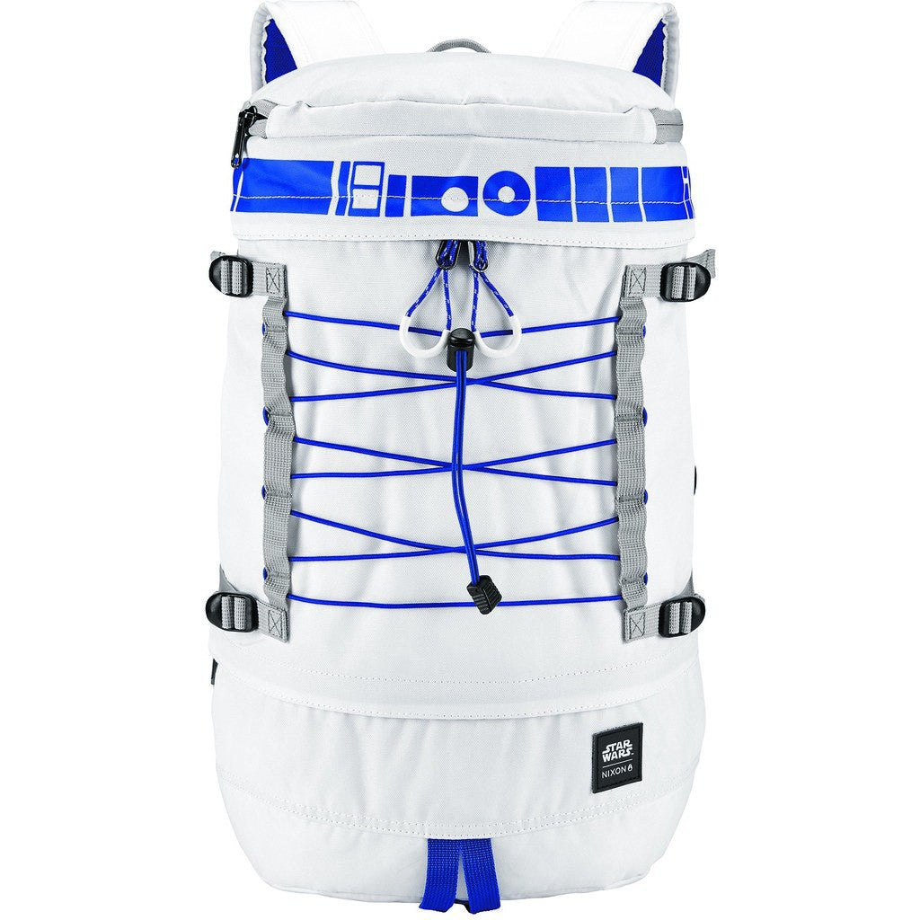 Nixon x Star Wars Drum Backpack | R2D2 White C2557SW-2379-00