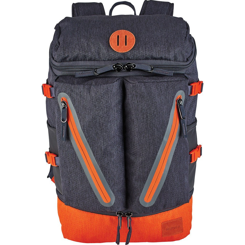 Nixon Scripps Backpack | Dark Gray/Orange C2605-2352-00