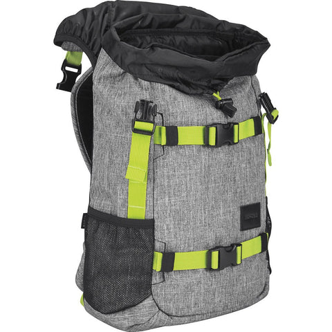 Nixon Small Landlock SE Backpack | Heather Gray / Lime C2677 1510-00