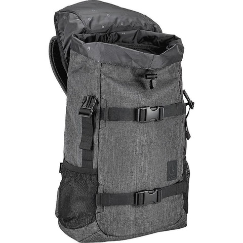 Nixon Small Landlock SE II Backpack | Charcoal Heather C2819168-00