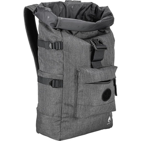 Nixon Swamis II Rolltop Backpack Charcoal Heather C2823168-00
