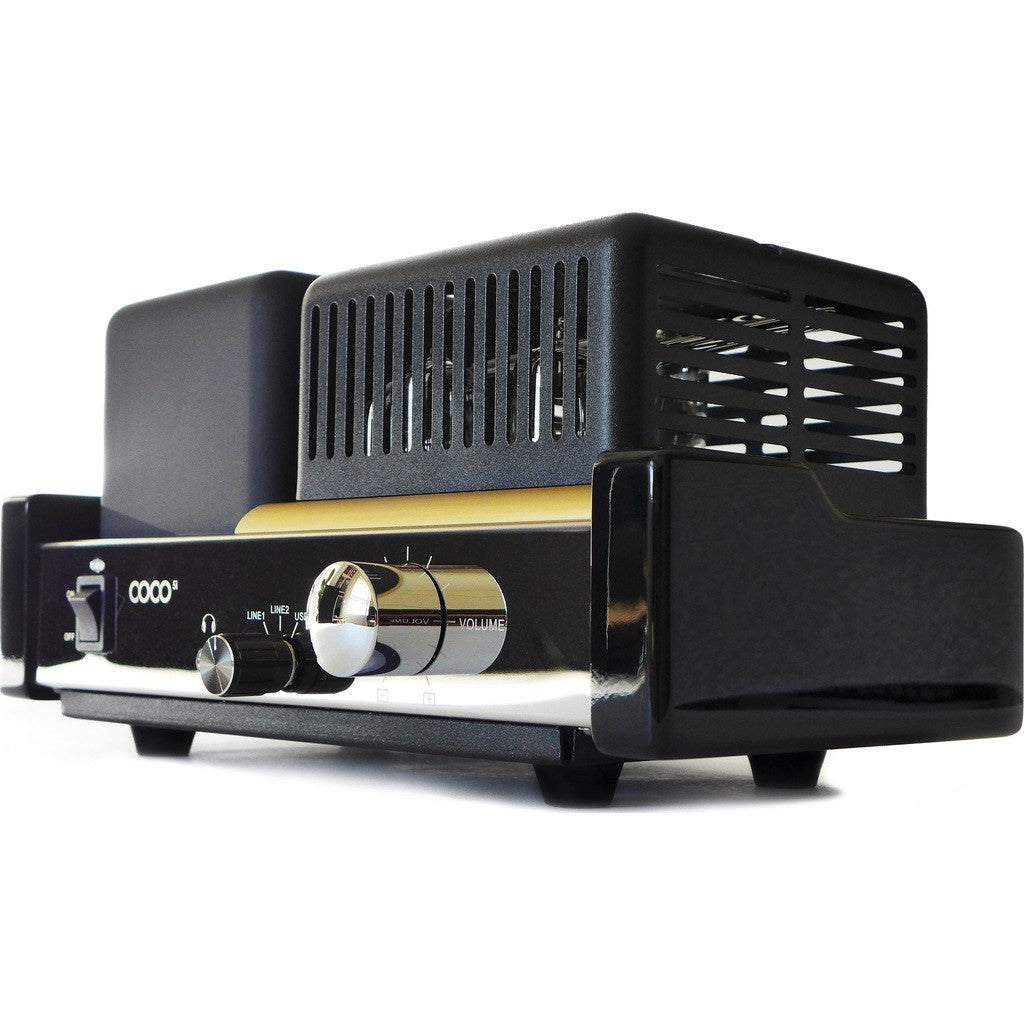Well Rounded Sound C5i Amp | Black/Chrome COCO C5i