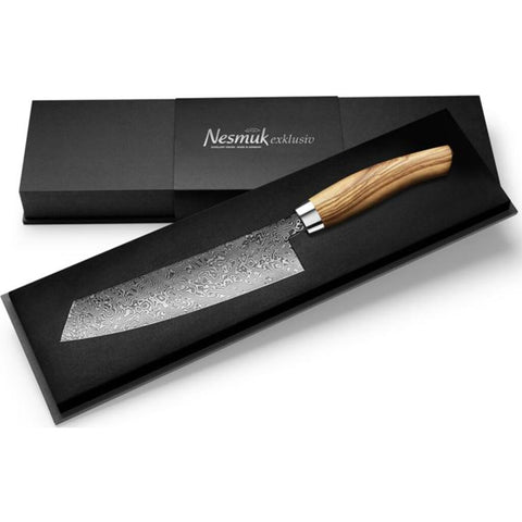 Nesmuk Exklusiv C90 Chef's Knife Olive Wood