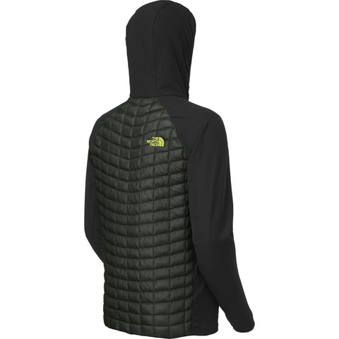 North Face Men's Thermoball Hybrid Hoodie | Spruce Green/Black NF00CAB4ETP