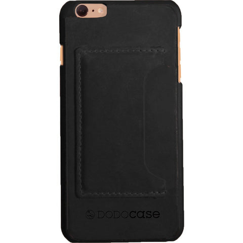 DODOcase Leather Card Case for iPhone 6/6s Plus | Black LE102005