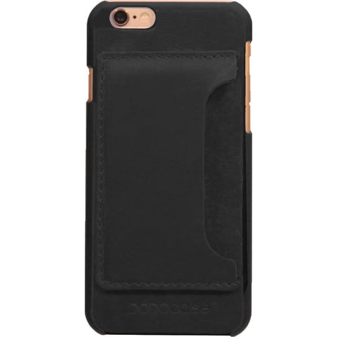 DODOcase Leather Card Case for iPhone 7 | Black LE102007