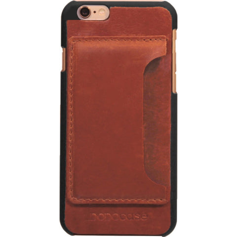 DODOcase Leather Card Case for iPhone 7 | Chestnut LE102006