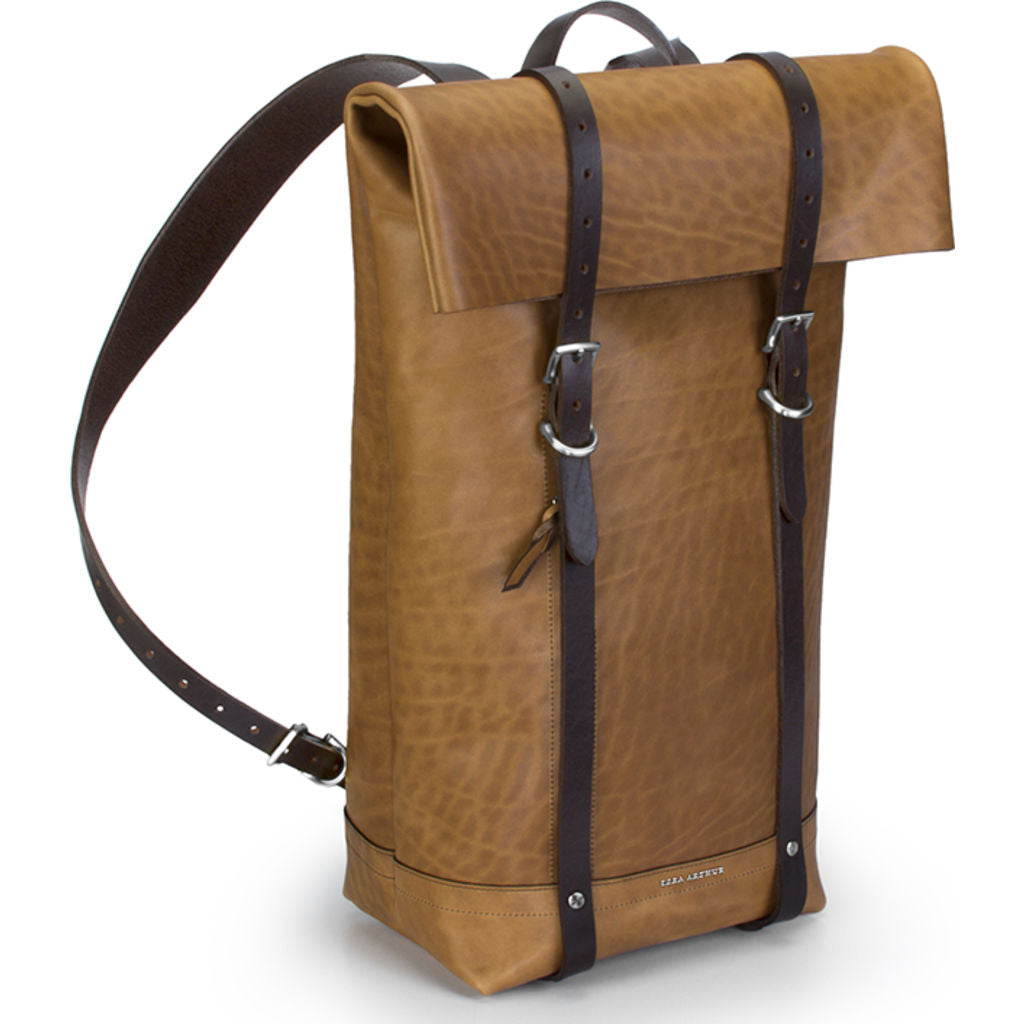 Ezra Arthur Keystone Rucksack Backpack | Whiskey & Nickel