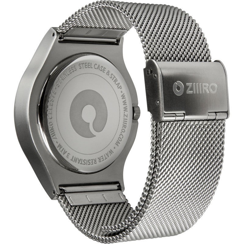 ZIIIRO Celeste Chrome Colored Watch | Z0005WSYG