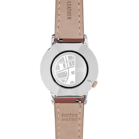 Canton and Hall Deep Ellum Daytripper Watch| Brown Leather-CH40-001